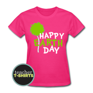 Happy Earth Day Teacher Shirt