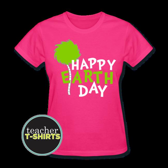 Happy Earth Day Teacher Shirt