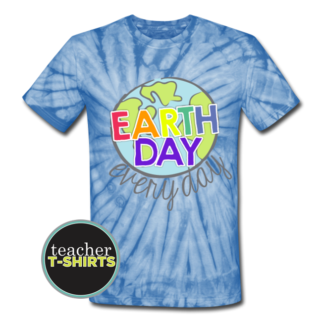 Earth Day Teacher T-shirt Tie Dye - Teach Junkie