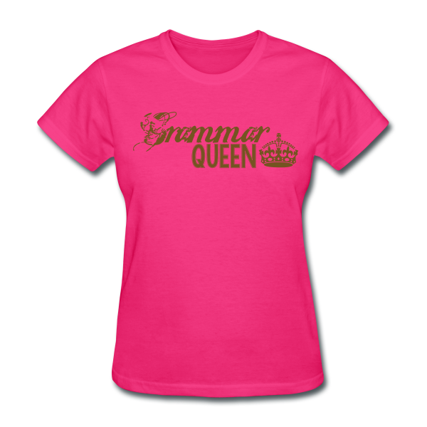 Grammar Queen Teacher Tees