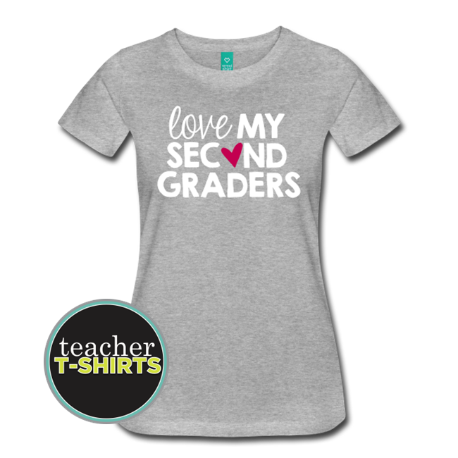39d9b205 Love My Second Graders • Teacher T-shirts
