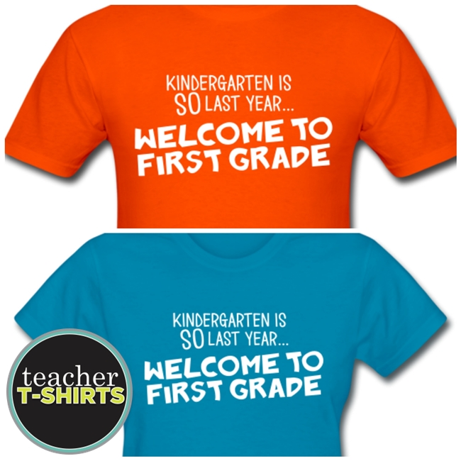 Kindergarten Is SO Last Year... Welcome to First Grade