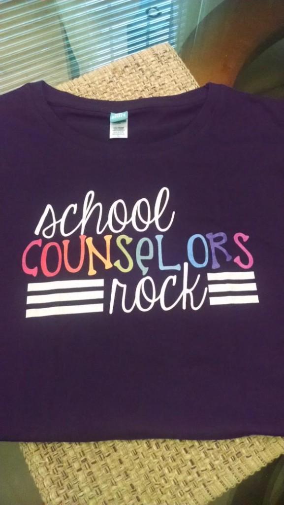School Counselors Rock Teacher T-Shirt