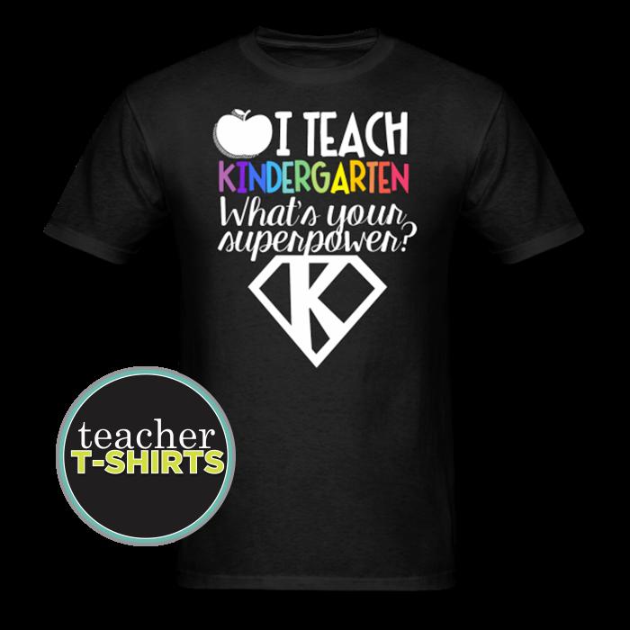 Superpower Kindergarten Teacher