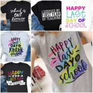 9 Happy Last Day of School Teacher Shirts