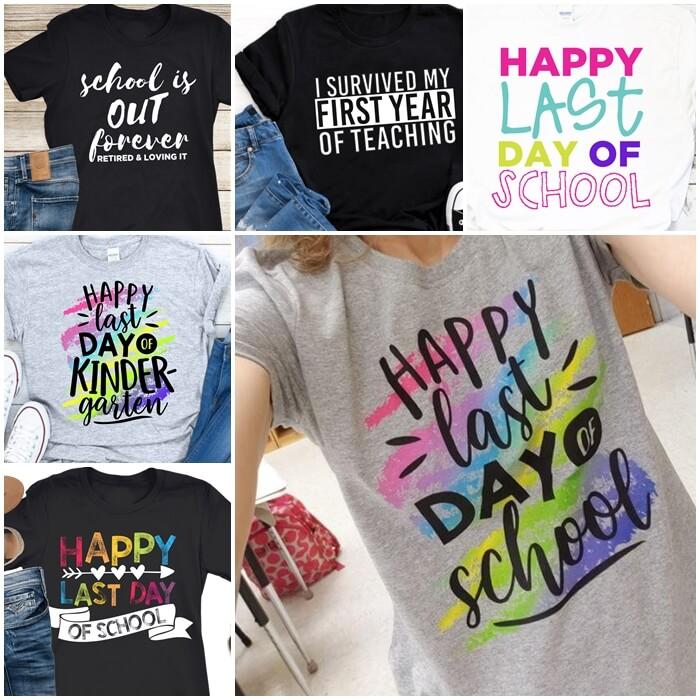 Happy Last Day of School Teacher T-shirts