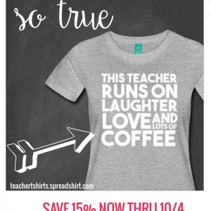 Long sleeves and teacher tees