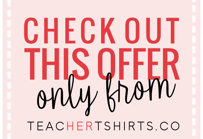 cute teacher tshirts on sale