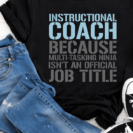 Funny Ninja Teacher T-Shirt – Because We Do It All
