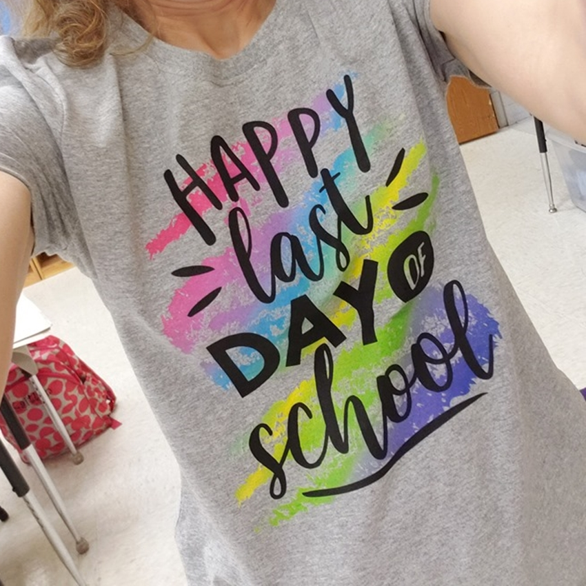 happy last day of school teachers shirts