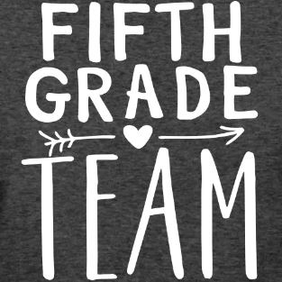 grade level team t-shirts fifth grade