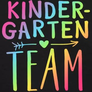 teacher t-shirts for grade level teams kindergarten