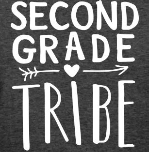 teaching tribe t-shirts second grade